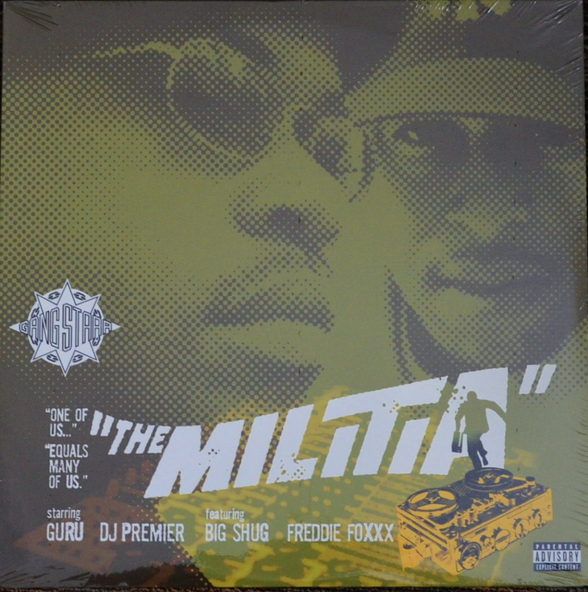 GANG STARR ‎/ THE MILITIA / YOU KNOW MY STEEZ (THREE MEN AND A LADY REMIX) (12