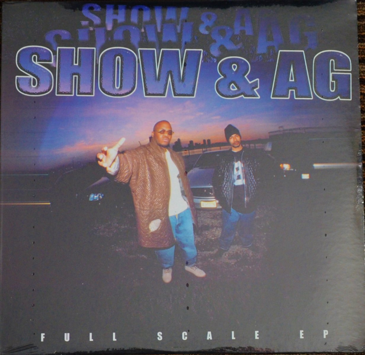 SHOW & AG / FULL SCALE EP (12