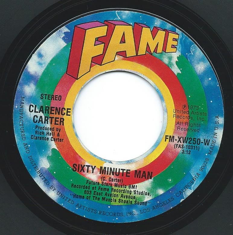 CLARENCE CARTER ‎/ SIXTY MINUTE MAN / MOTHER-IN-LAW (7