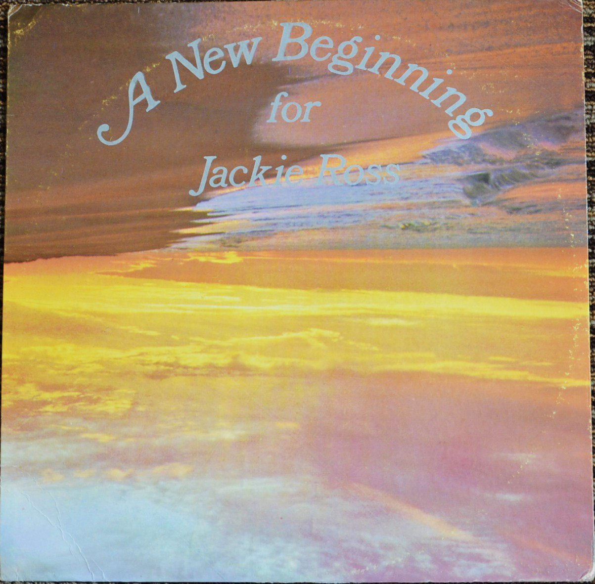 JACKIE ROSS ‎/ A NEW BEGINNING (LP)