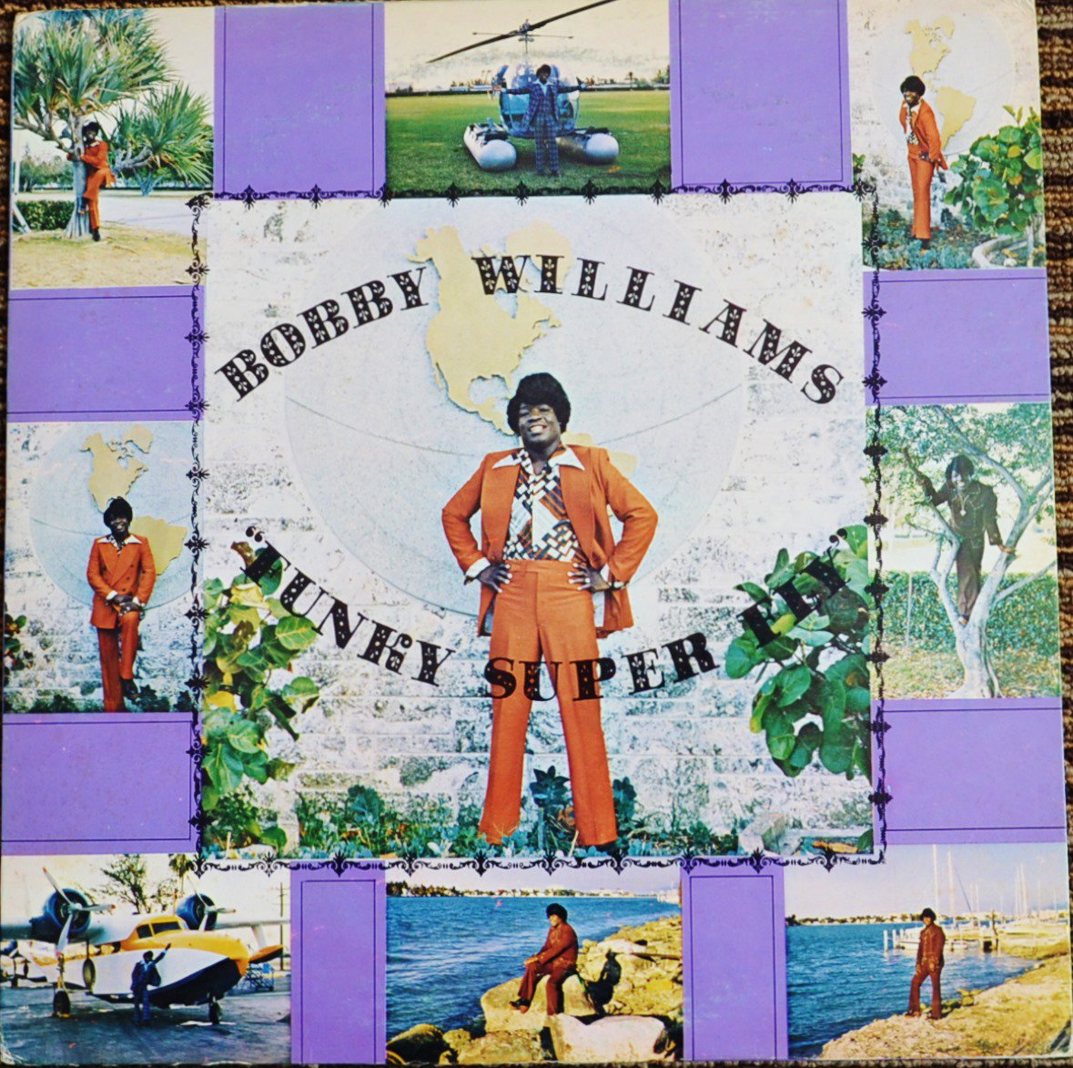 BOBBY WILLIAMS ‎/ FUNKY SUPER FLY (LP)