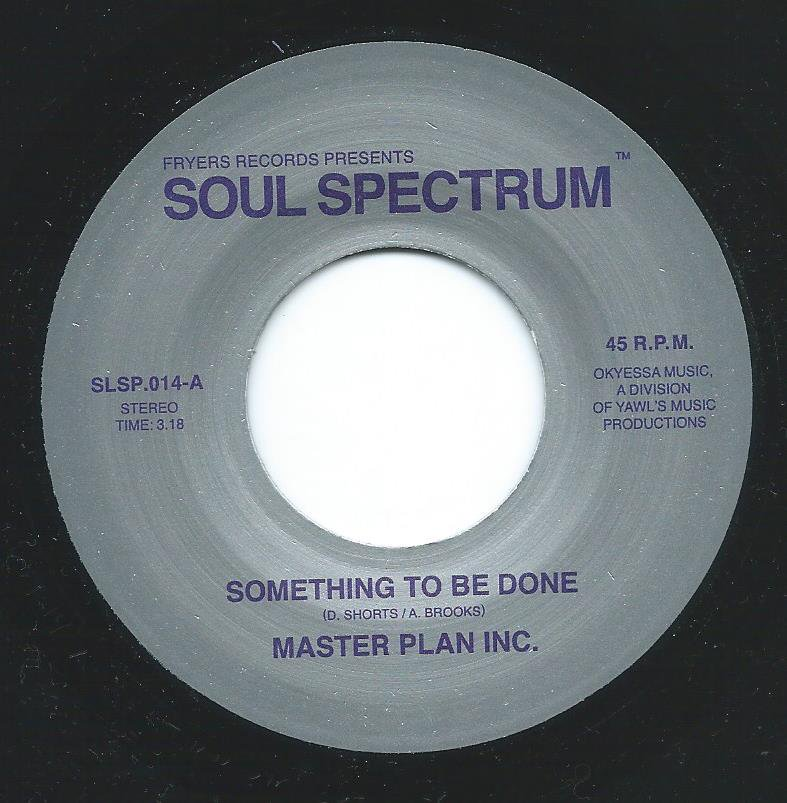 MASTER PLAN INC. / SOMETHING TO BE DONE / SOMETHING TO BE DONE (BRUNSWICK DEMO VERSION) (7