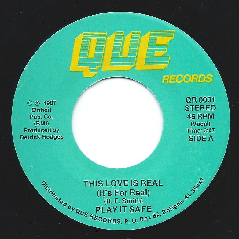 PLAY IT SAFE ‎/ THIS LOVE IS REAL (IT'S FOR REAL) / WHAT AM I GONNA DO? (7