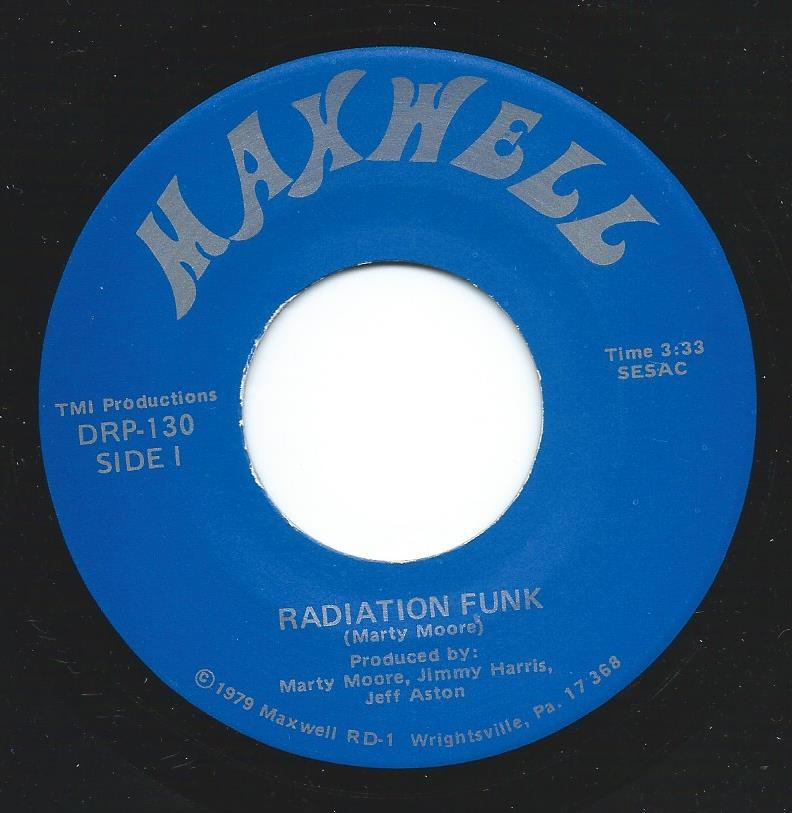 MAXWELL / RADIATION FUNK / CALL ME (7