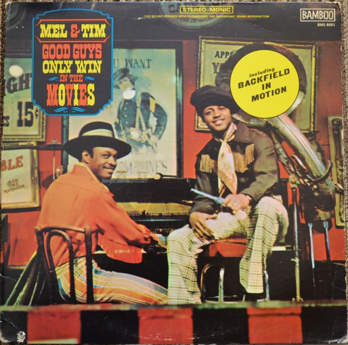 MEL & TIM / GOOD GUYS ONLY WIN IN THE MOVIES (LP)