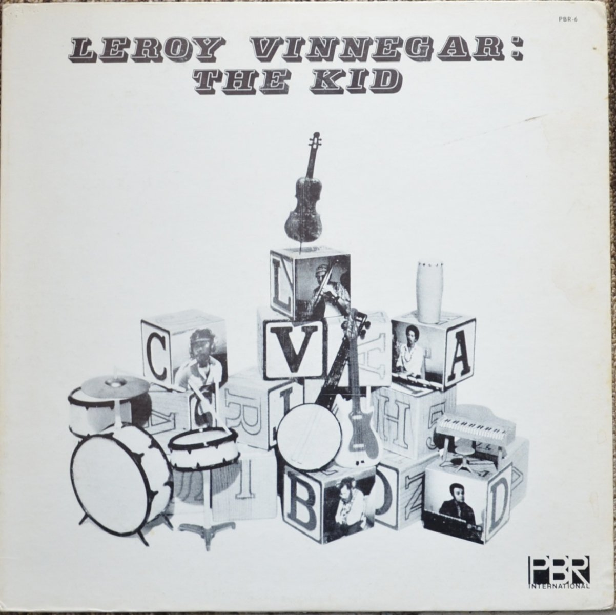 LEROY VINNEGAR ‎/ THE KID (LP)