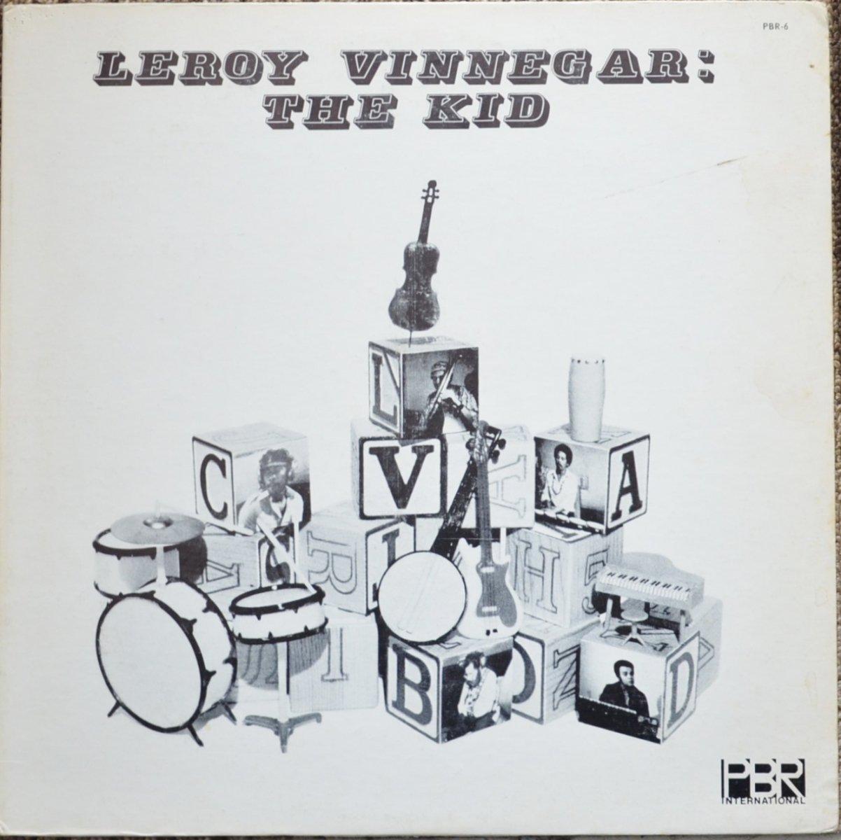 LEROY VINNEGAR / THE KID (LP)