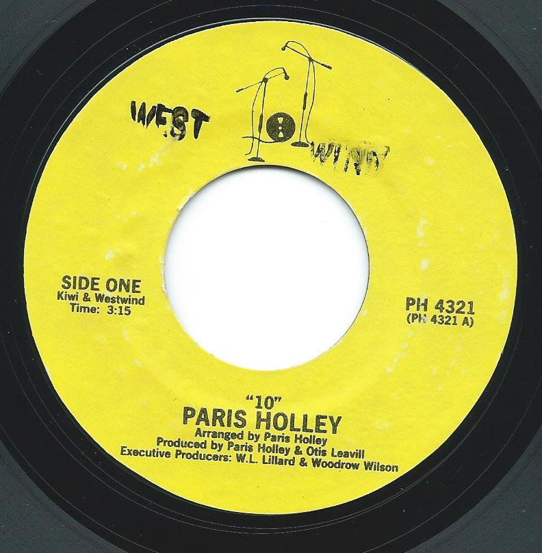 PARIS HOLLEY ‎/ 10 / LADY OF THE NIGHT (7