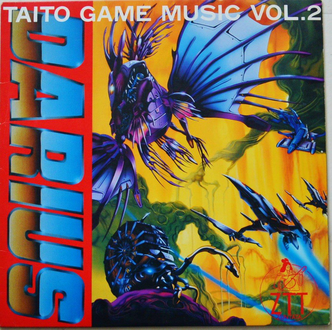 ZUNTATA (TAITO SOUND TEAM) / DARIUS - TAITO GAME MUSIC VOL. 2 (LP)