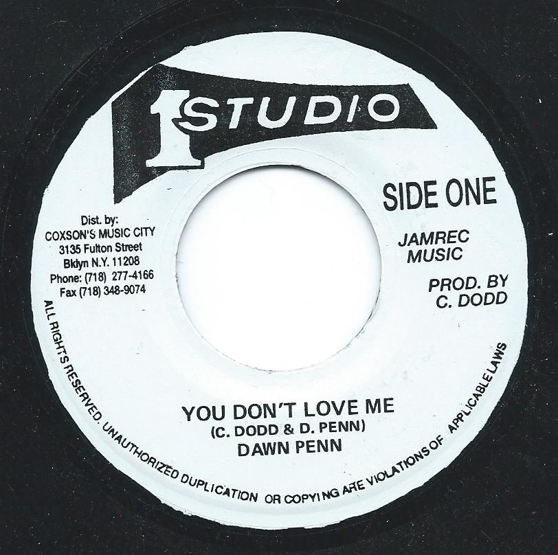 DAWN PENN / YOU DON'T LOVE ME (7