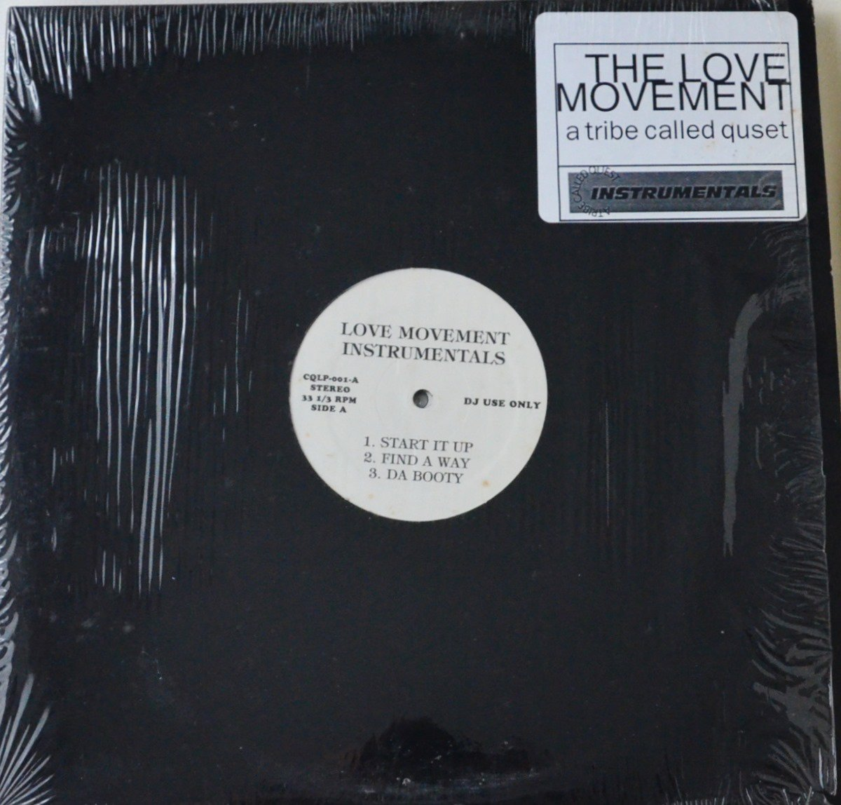 A TRIBE CALLED QUEST / LOVE MOVEMENT INSTRUMENTALS (2LP)