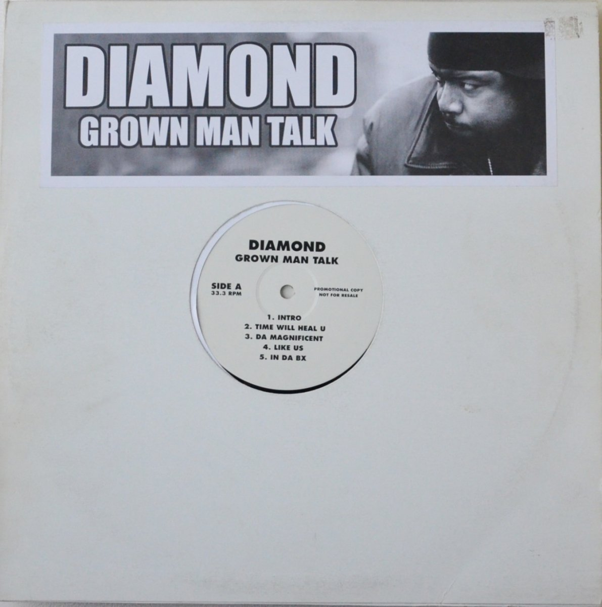 DIAMOND / GROWN MAN TALK (2LP)