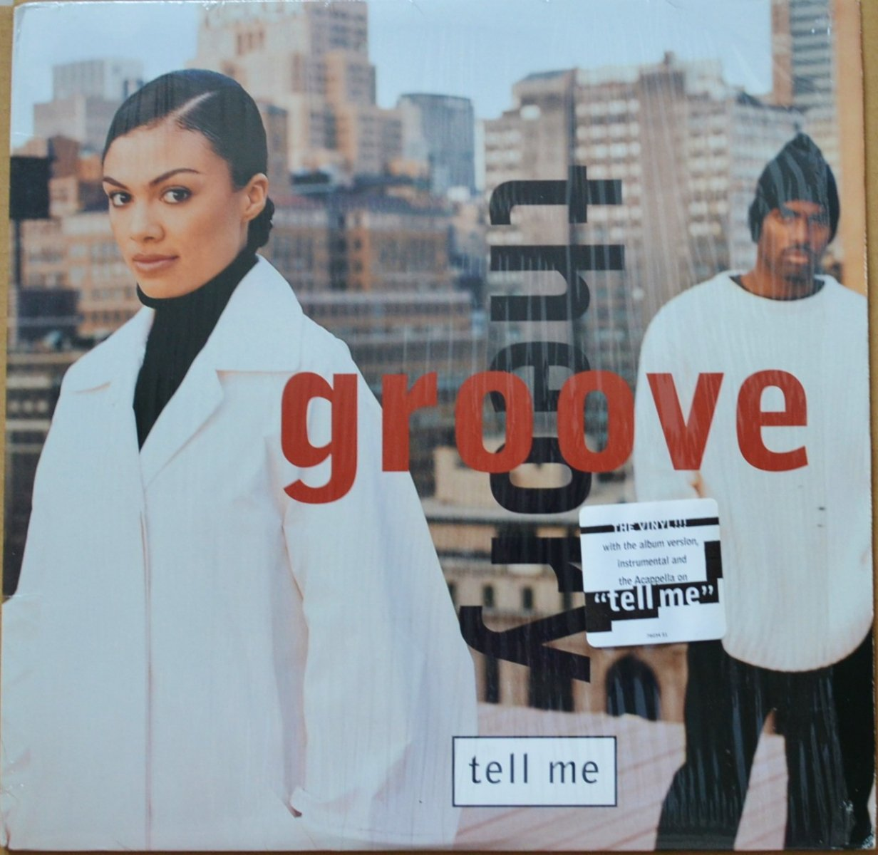 GROOVE THEORY ‎/ TELL ME (12