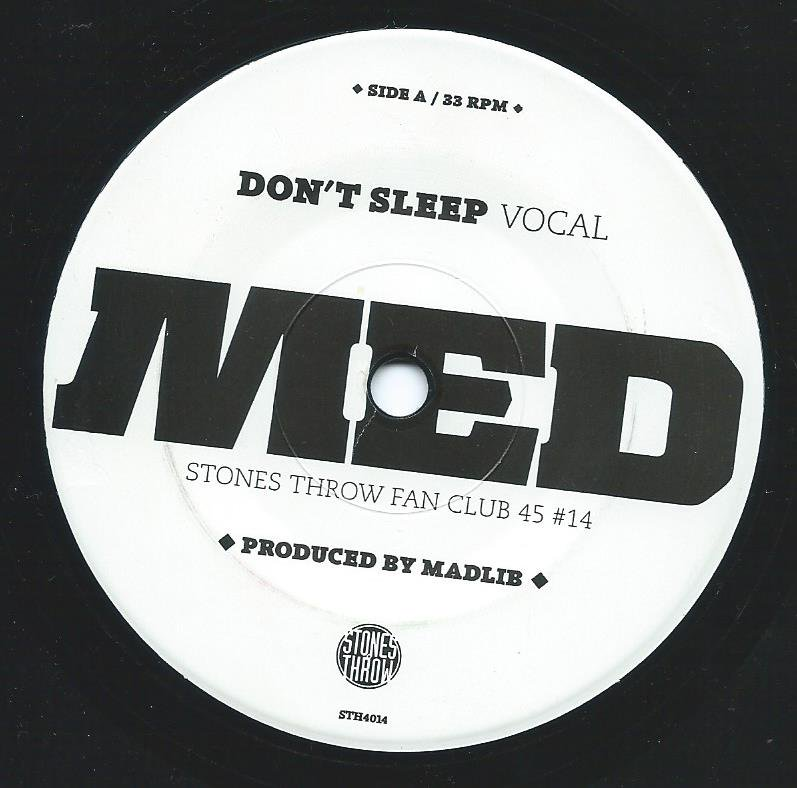 MED (MEDAPHOAR) / DON'T SLEEP (7