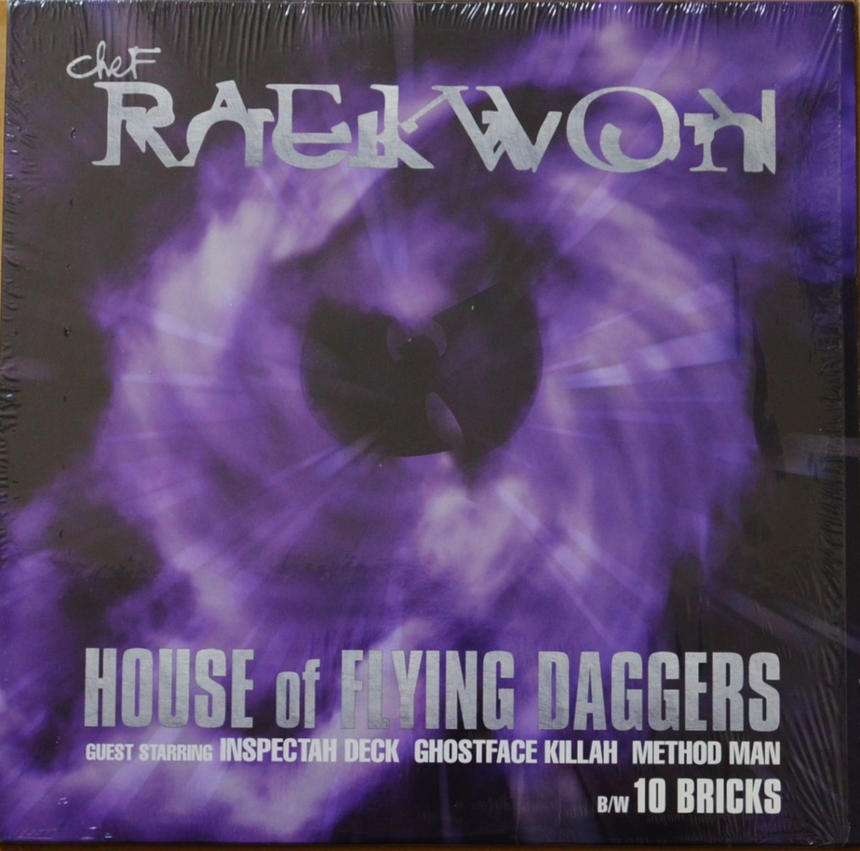 CHEF RAEKWON / HOUSE OF FLYING DAGGERS / 10 BRICKS (PROD BY J DILLA) (12