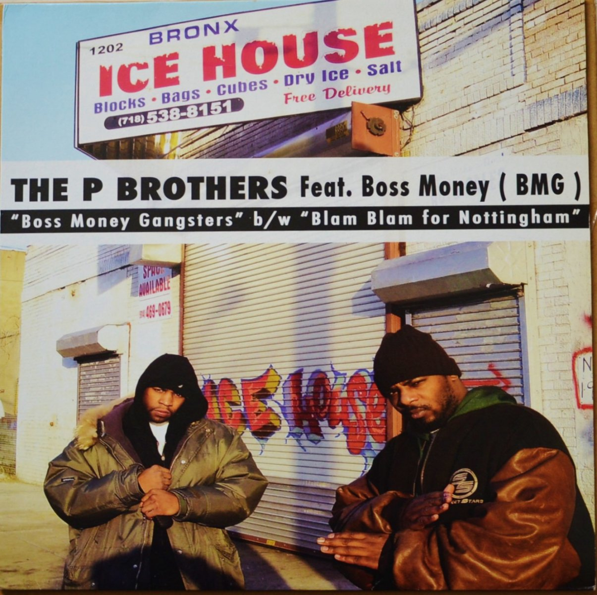 THE P BROTHERS FEATURING BOSS MONEY / BOSS MONEY GANGSTERS (12