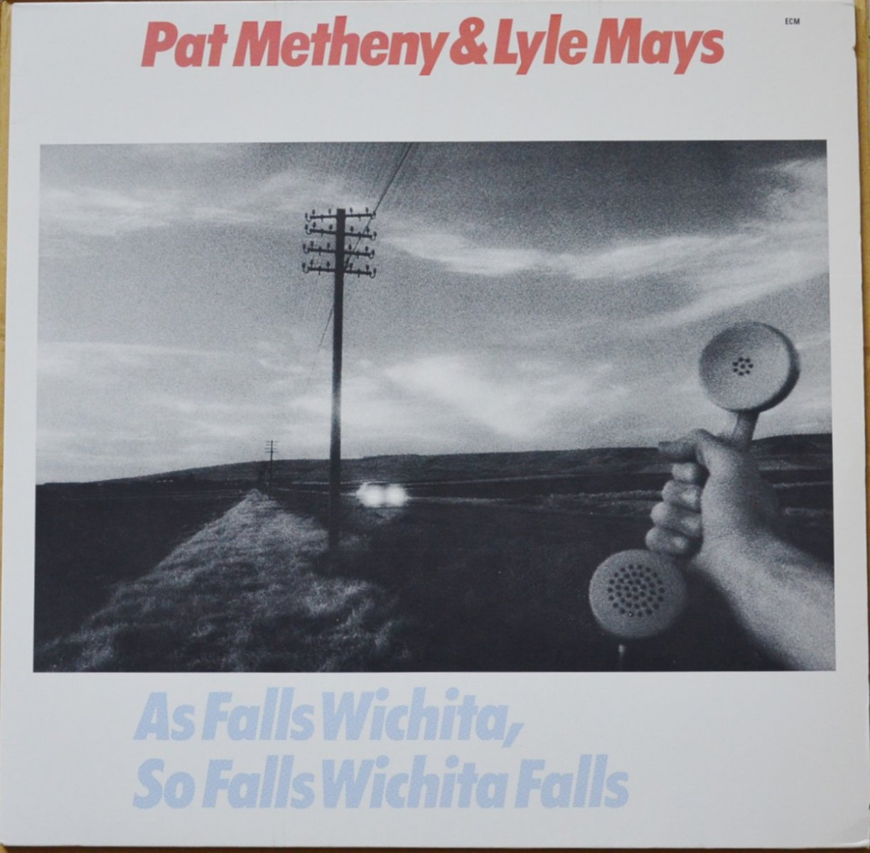PAT METHENY & LYLE MAYS / AS FALLS WICHITA, SO FALLS WICHITA FALLS (LP)