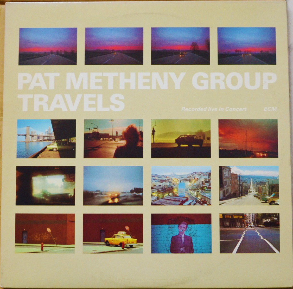 PAT METHENY GROUP ‎/ TRAVELS (2LP)
