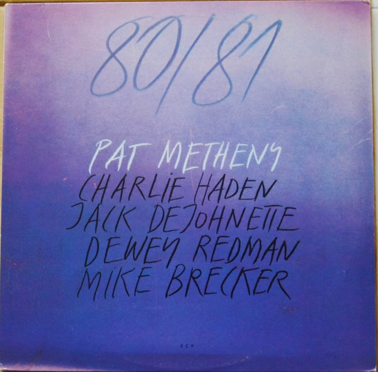 PAT METHENY ‎/ 80/81 (2LP)
