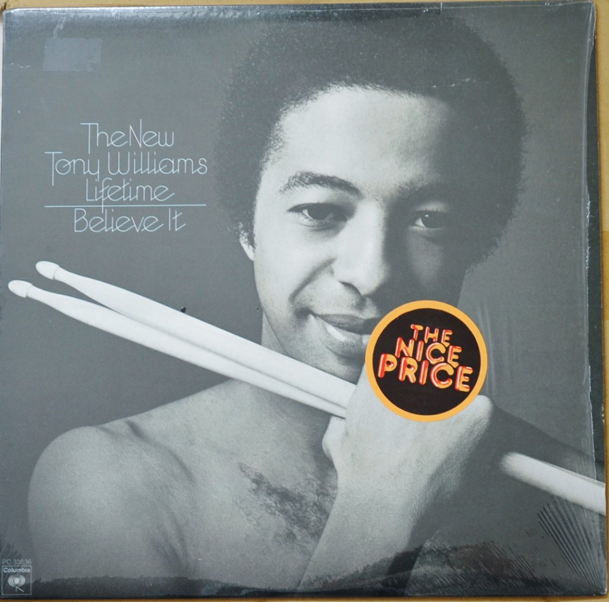 THE NEW TONY WILLIAMS LIFETIME / BELIEVE IT (LP)