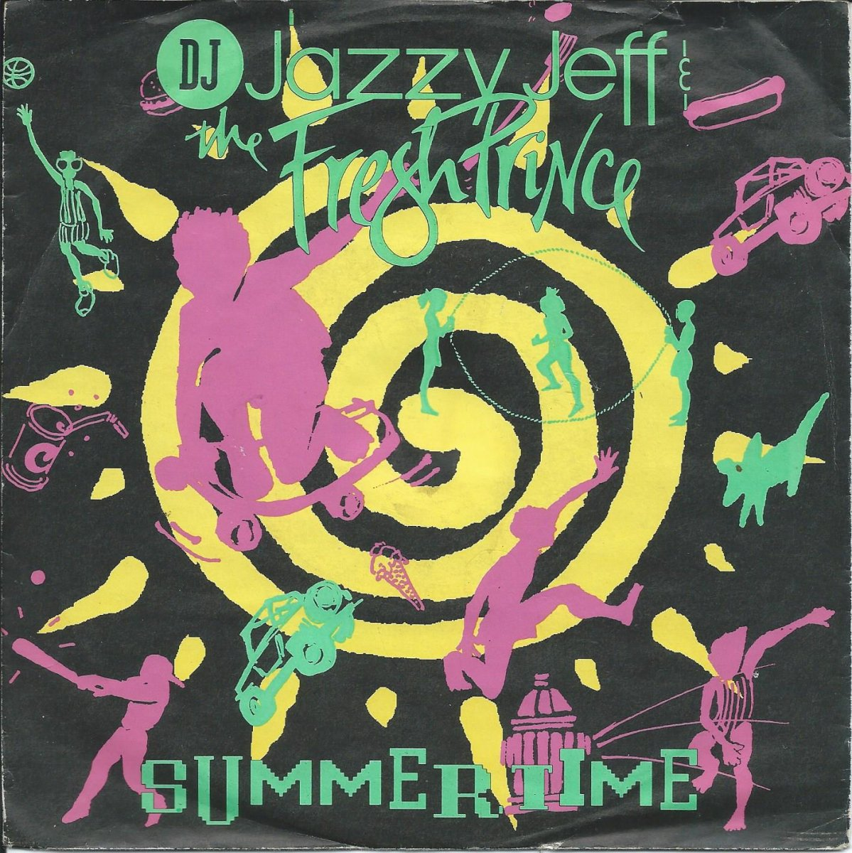 DJ JAZZY JEFF & THE FRESH PRINCE / SUMMERTIME (7