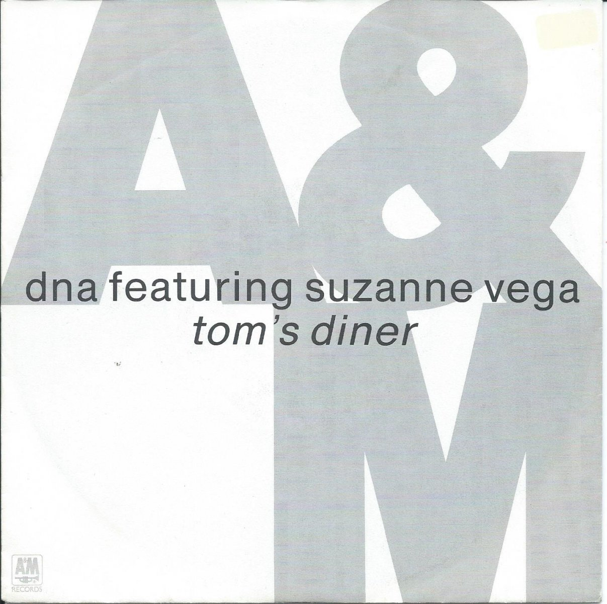 DNA FEATURING SUZANNE VEGA ‎/ TOM'S DINER (7