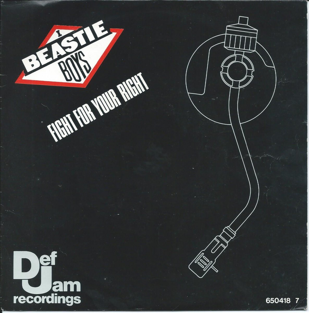 BEASTIE BOYS ‎/ FIGHT FOR YOUR RIGHT / TIME TO GET ILL (7
