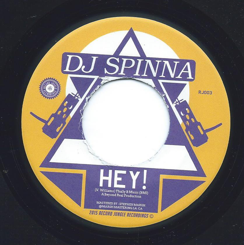 DJ SPINNA / SBBX / HEY! / DOUBLE SHIFT (7