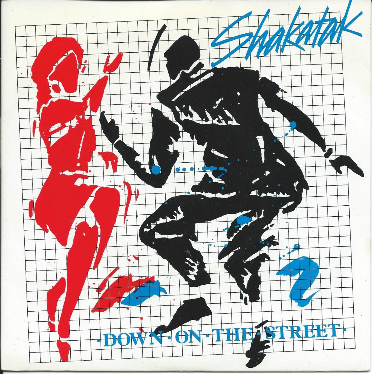 SHAKATAK ‎/ DOWN ON THE STREET / HOLDING ON (7