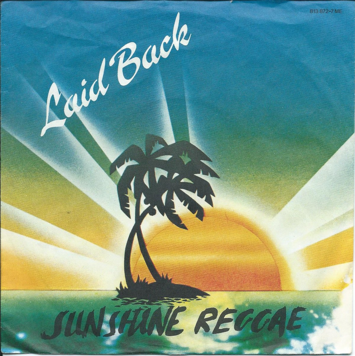 LAID BACK ‎/ SUNSHINE REGGAE / WHITE HORSE (7