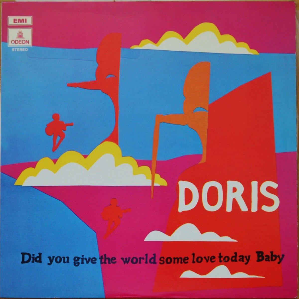 DORIS ‎/ DID YOU GIVE THE WORLD SOME LOVE TODAY, BABY (LP)