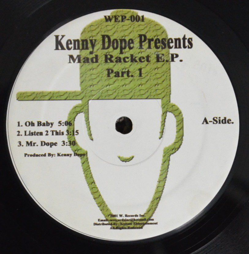 KENNY DOPE / MAD RACKET E.P. PART. 1 (12