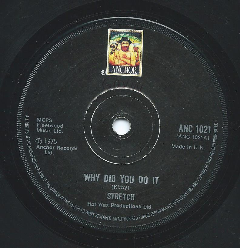 STRETCH / WHY DID YOU DO IT / WRITE ME A NOTE (7