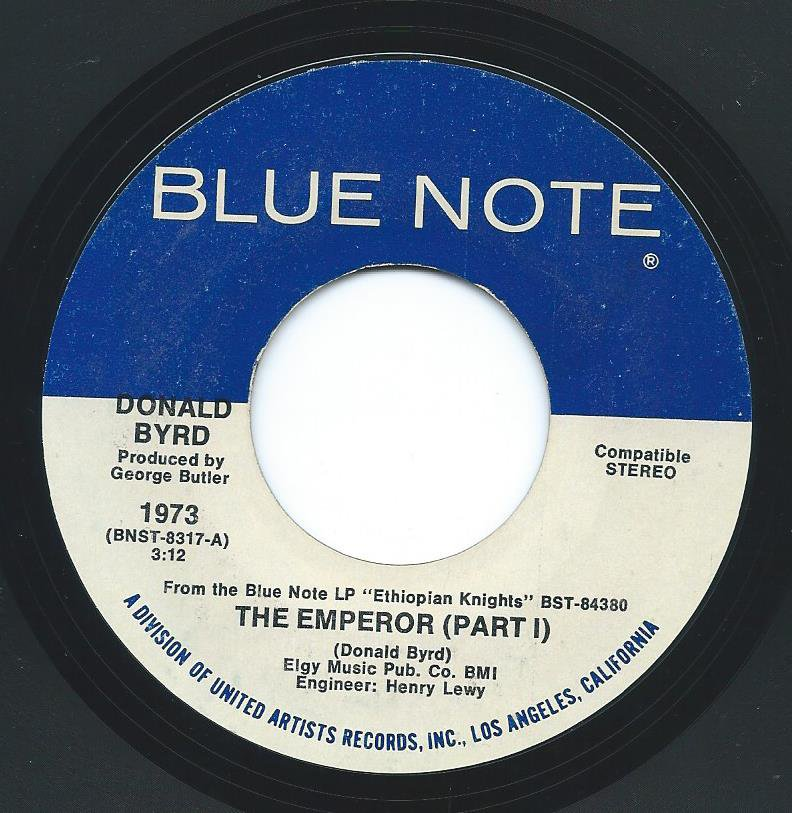 DONALD BYRD / THE EMPEROR (7