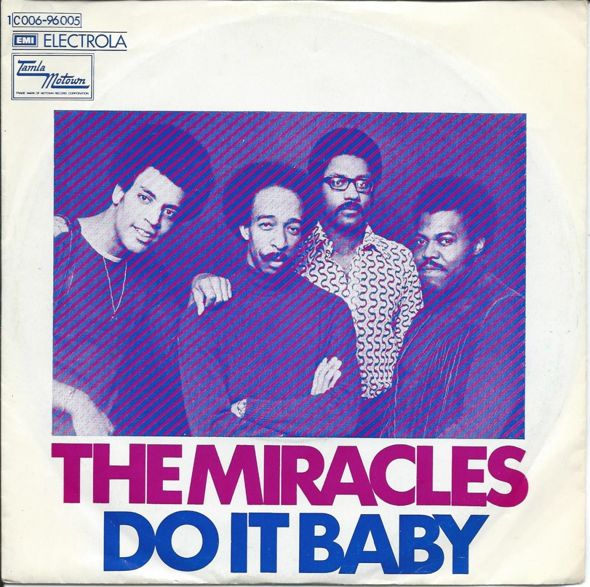 THE MIRACLES ‎/ DO IT BABY / I WANNA BE WITH YOU (7