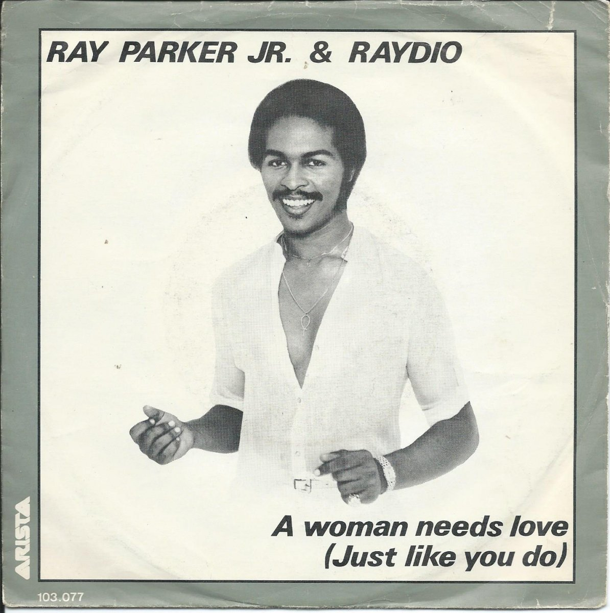 RAY PARKER JR. & RAYDIO / A WOMAN NEEDS LOVE (JUST LIKE YOU DO) (7