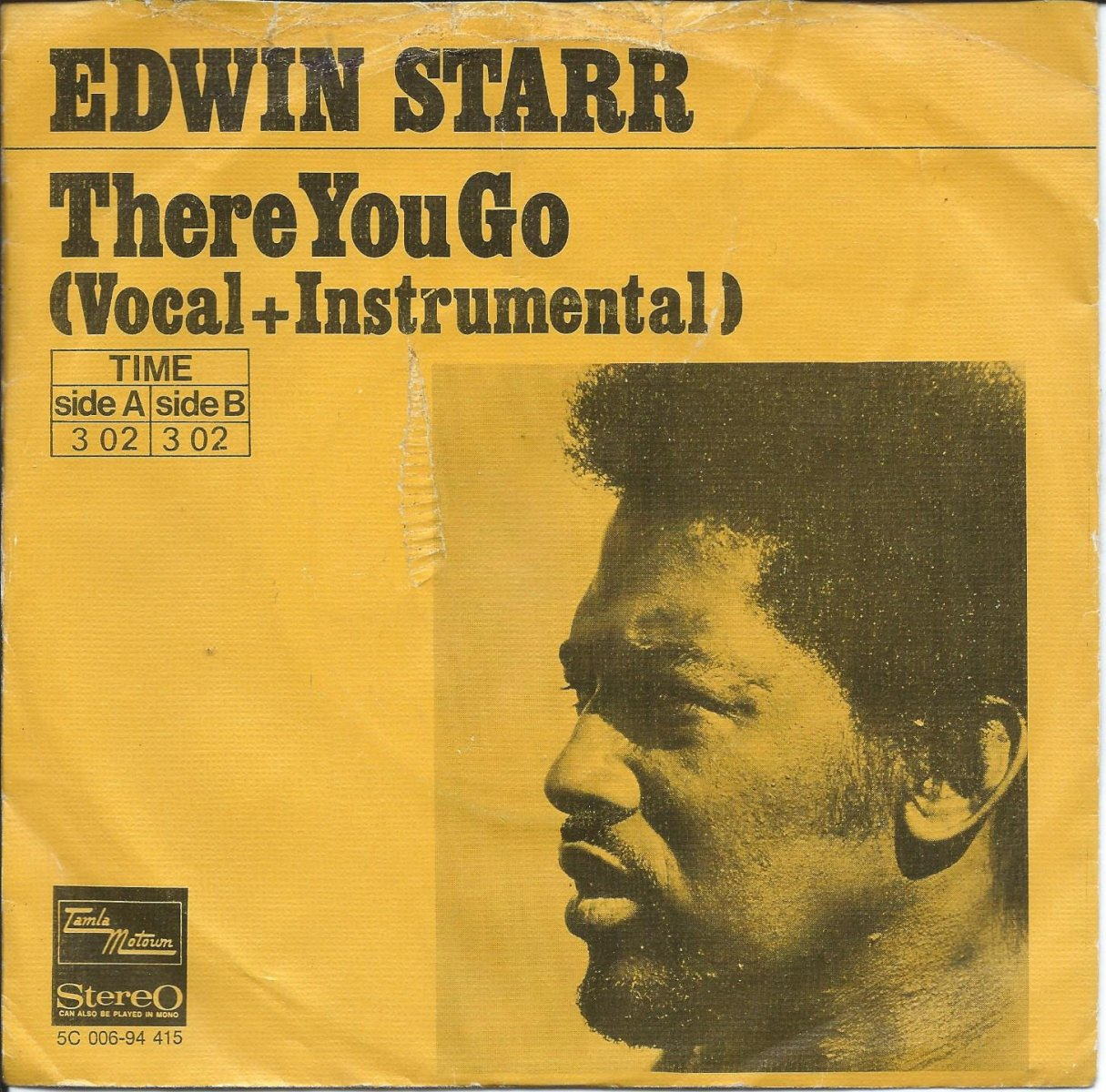 EDWIN STARR ‎/ THERE YOU GO (7