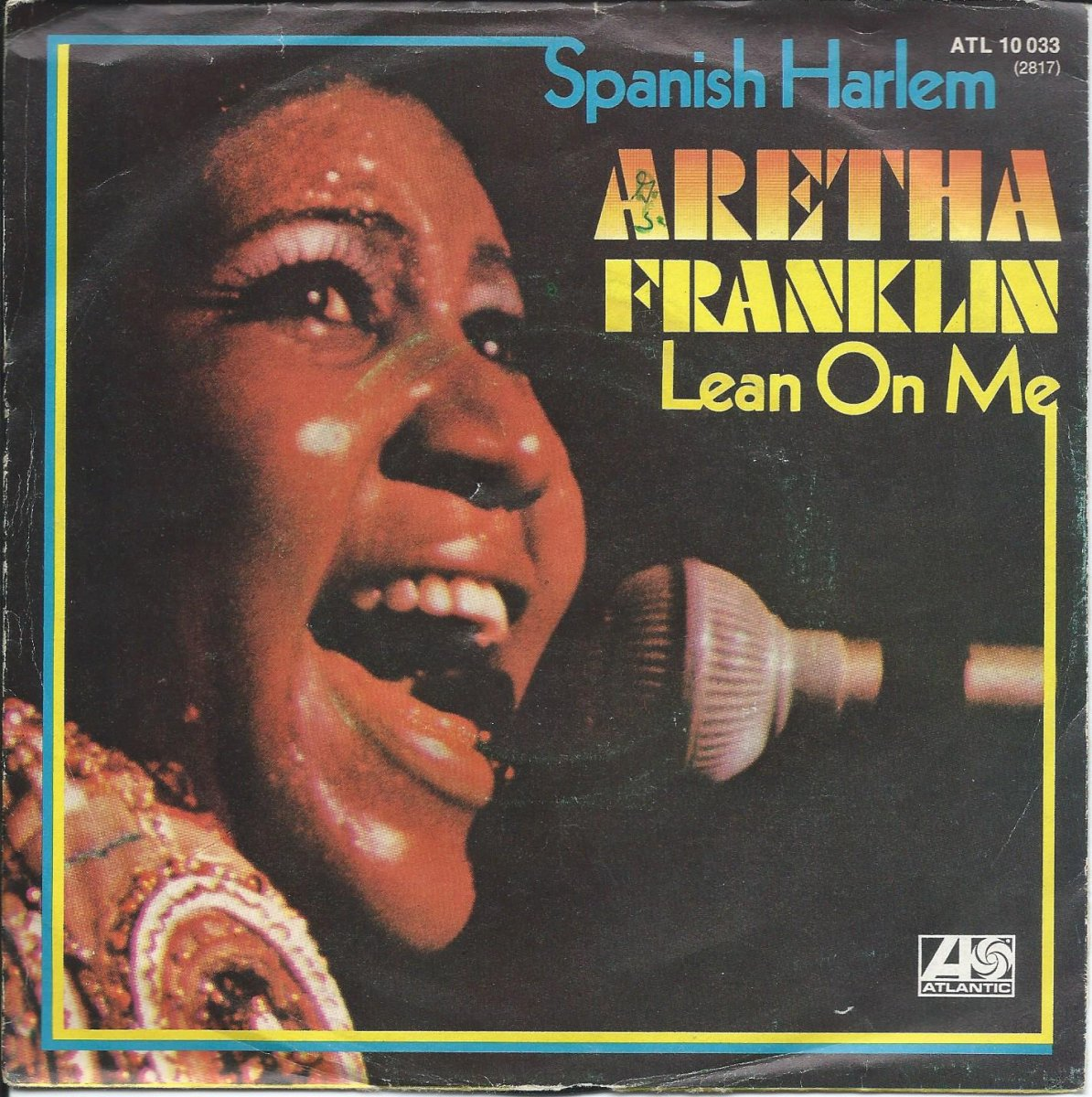 ARETHA FRANKLIN / SPANISH HARLEM / LEAN ON ME (7