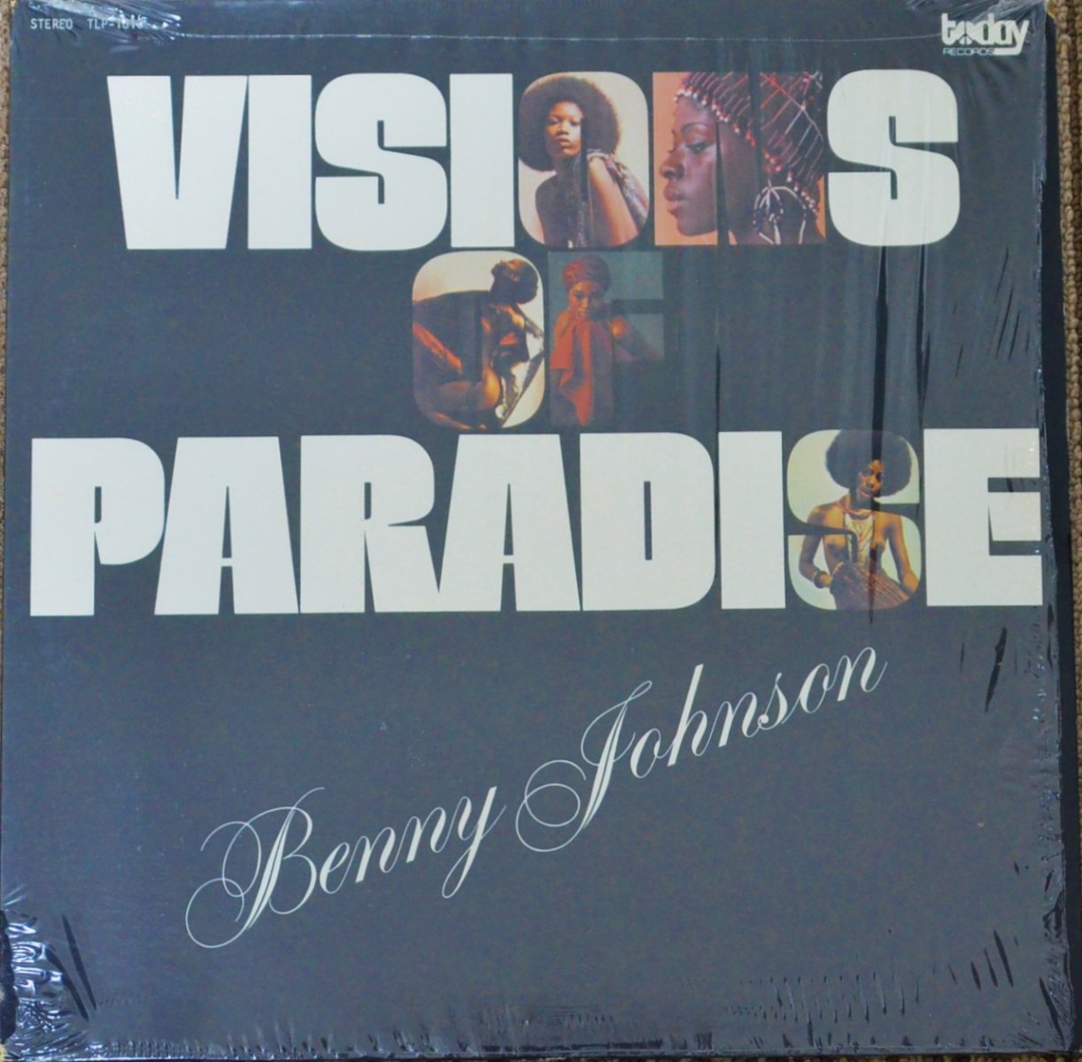 BENNY JOHNSON ‎/ VISIONS OF PARADISE (LP)