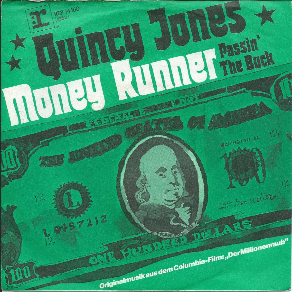 QUINCY JONES / MONEY RUNNER / PASSIN' THE BUCK (7