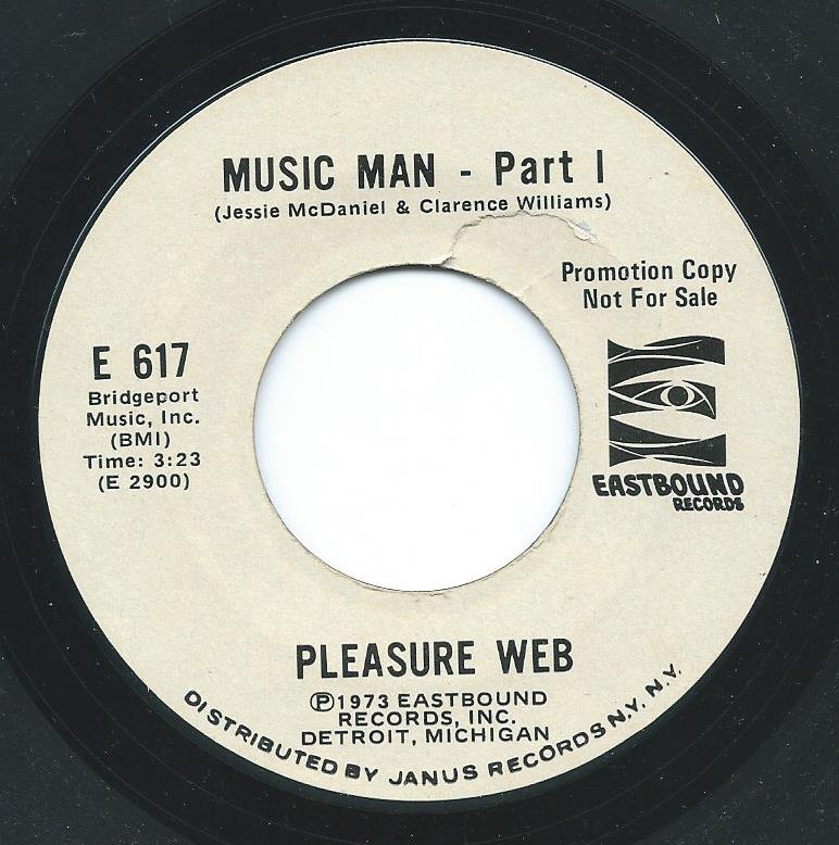 PLEASURE WEB / MUSIC MAN (PART I & II) (7