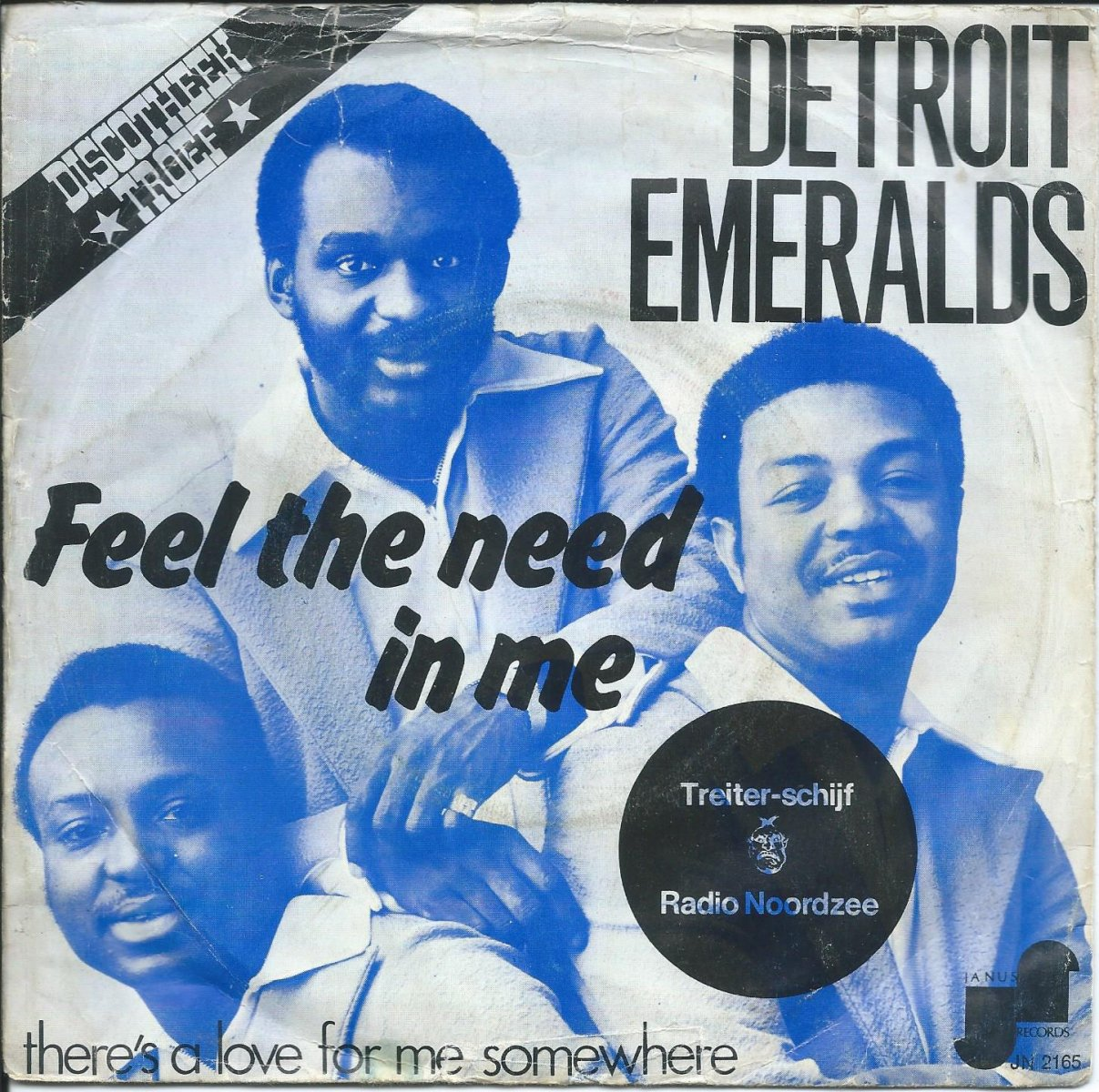 DETROIT EMERALDS / FEEL THE NEED IN ME / THERE'S A LOVE FOR ME SOMEWHERE (7