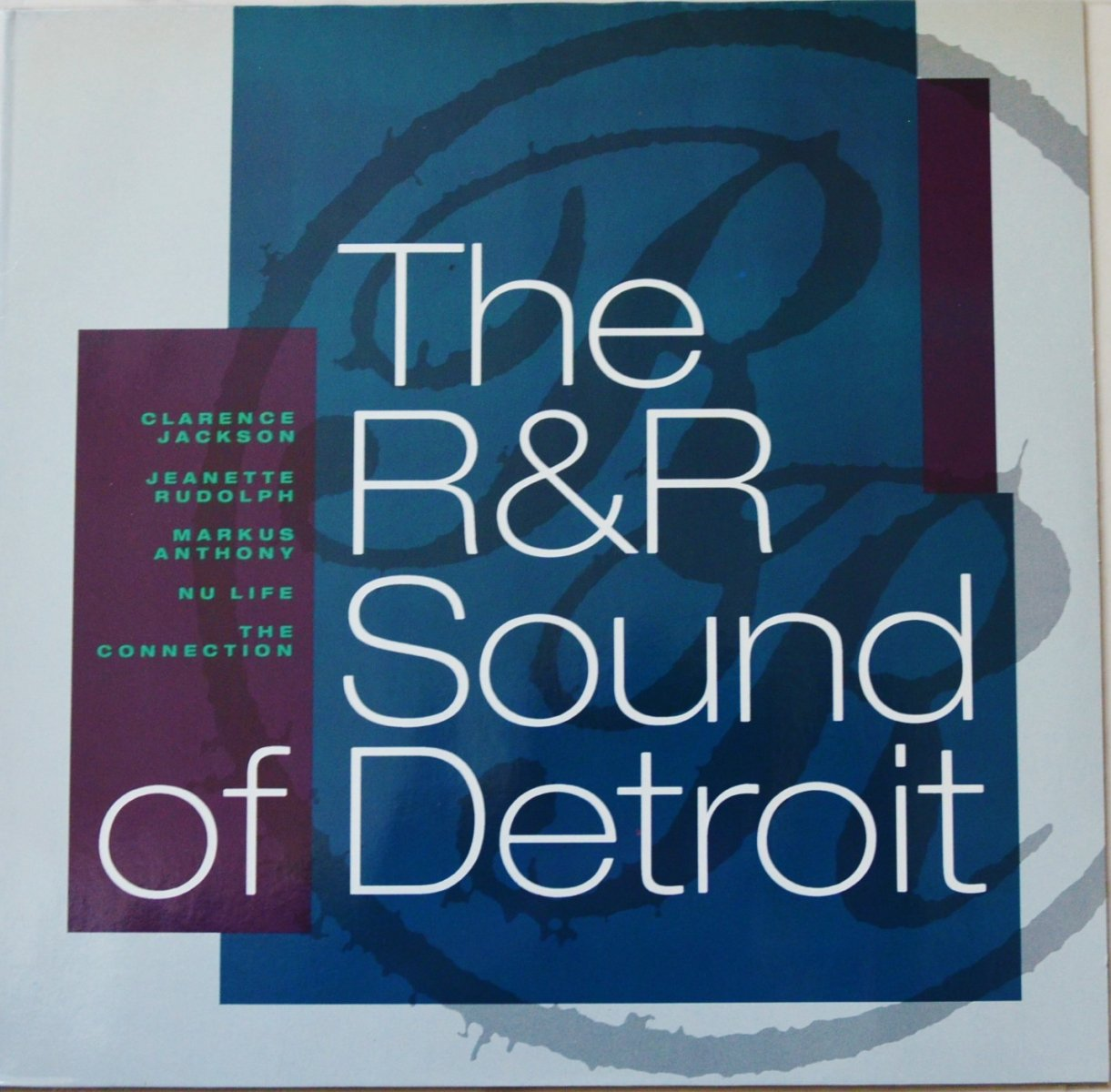 V.A.(CLARENCE JACKSON,MARKUS ANTHONY...) ‎/ THE R & R SOUND OF DETROIT (LP)
