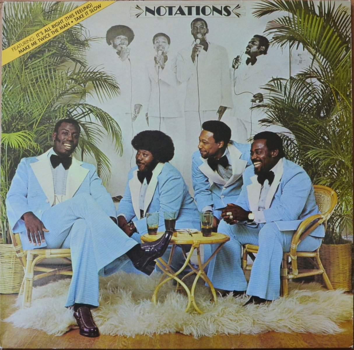 THE NOTATIONS ‎/ THE NOTATIONS (LP)