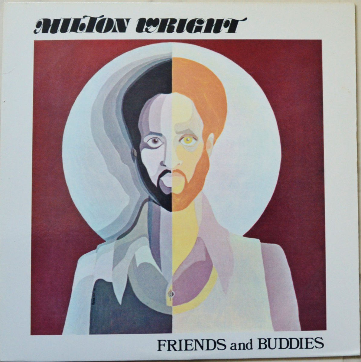 MILTON WRIGHT / FRIENDS AND BUDDIES (LP)