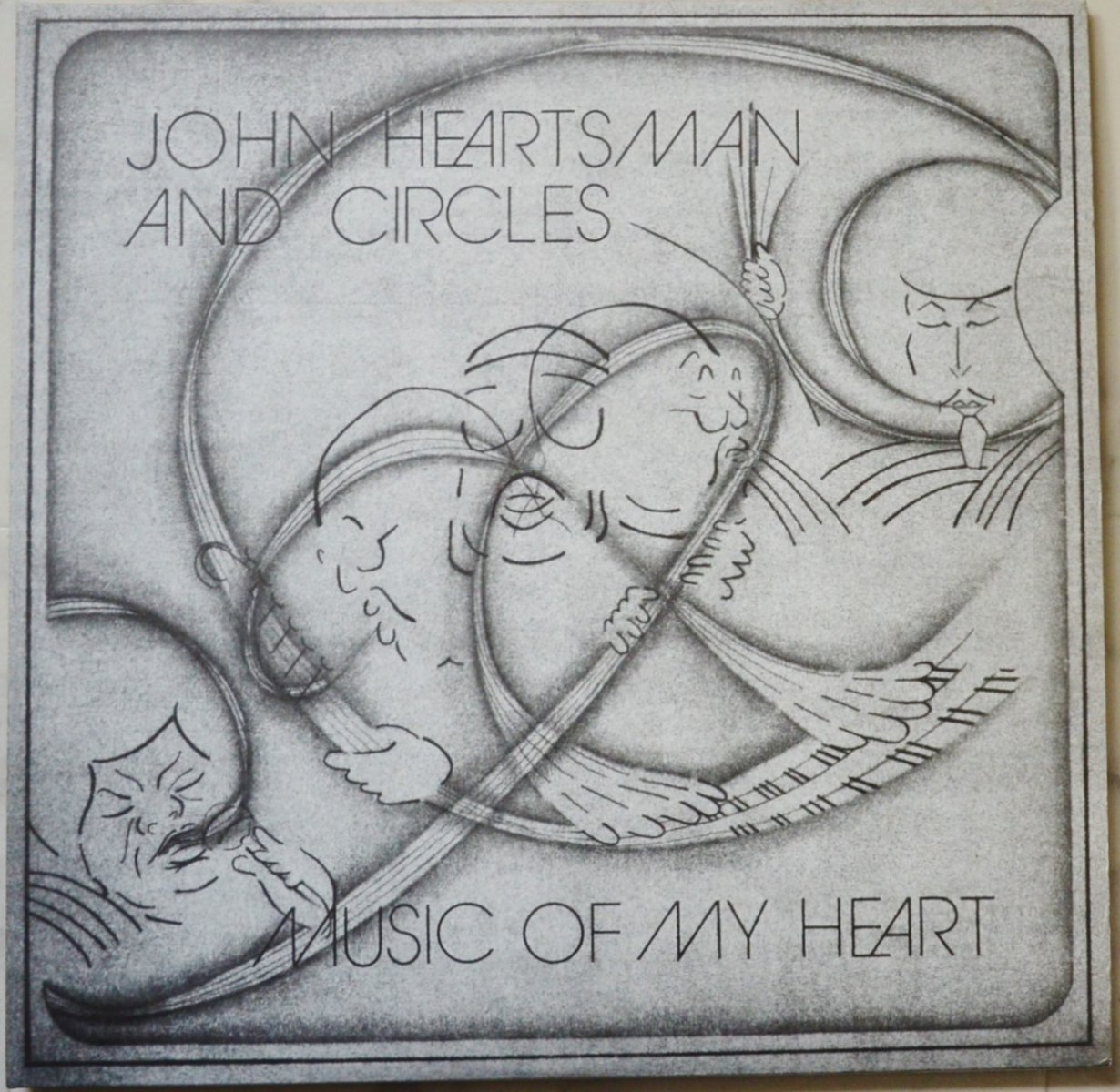 JOHN HEARTSMAN AND CIRCLES / MUSIC OF MY HEART (2LP)