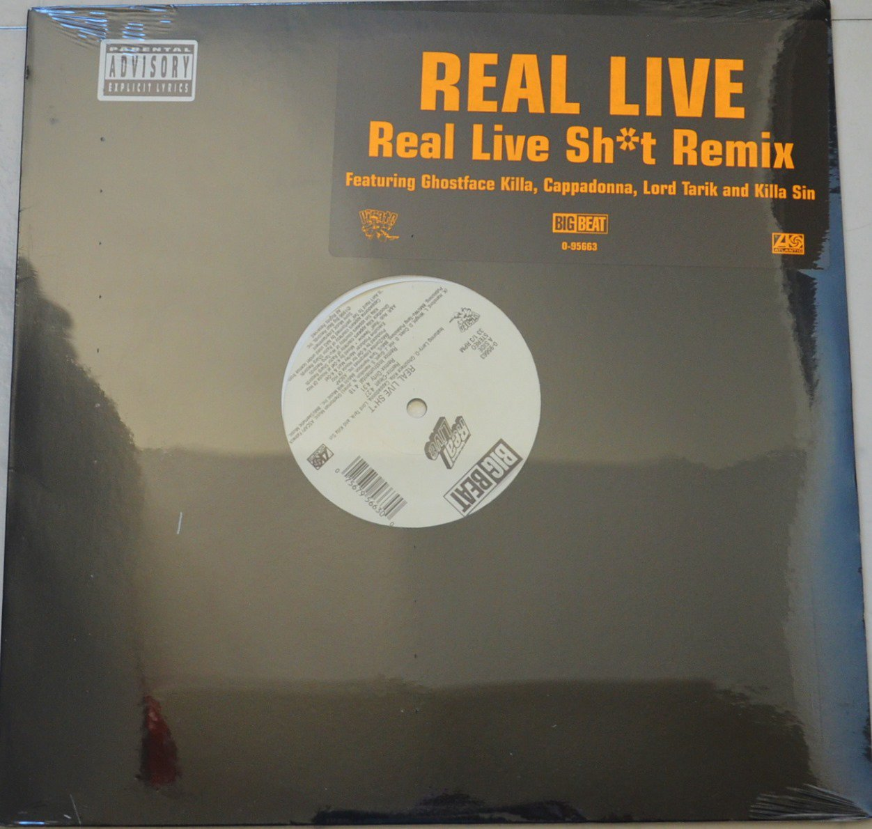 REAL LIVE / REAL LIVE SH*T (REMIX) / POP THE TRUNK (PROD BY K-DEF) (12