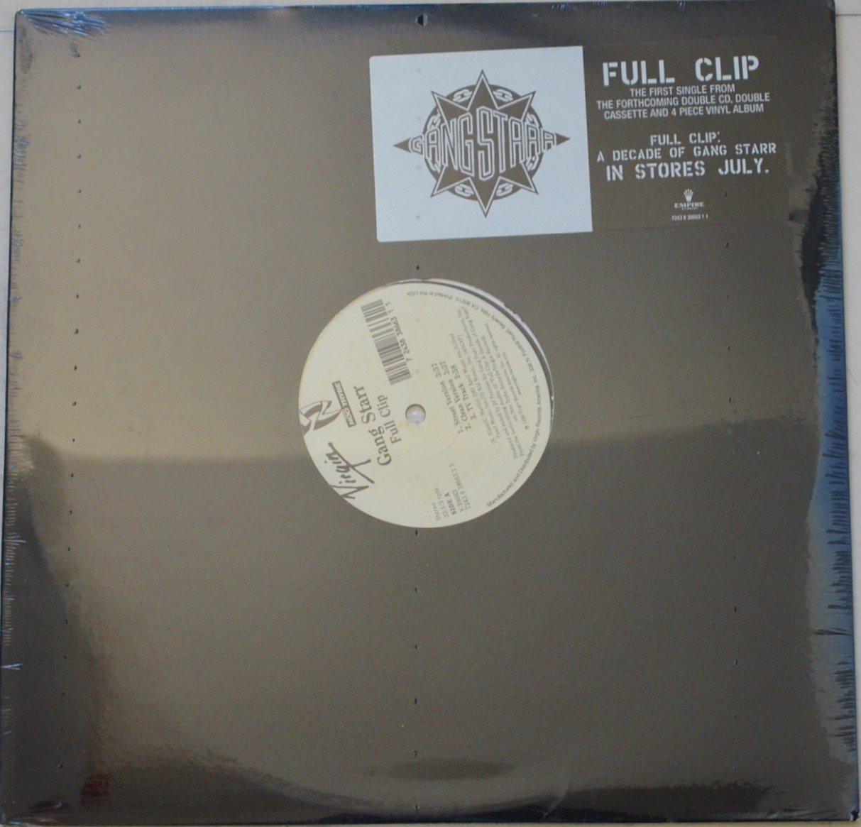 GANG STARR / FULL CLIP / DWYCK (12
