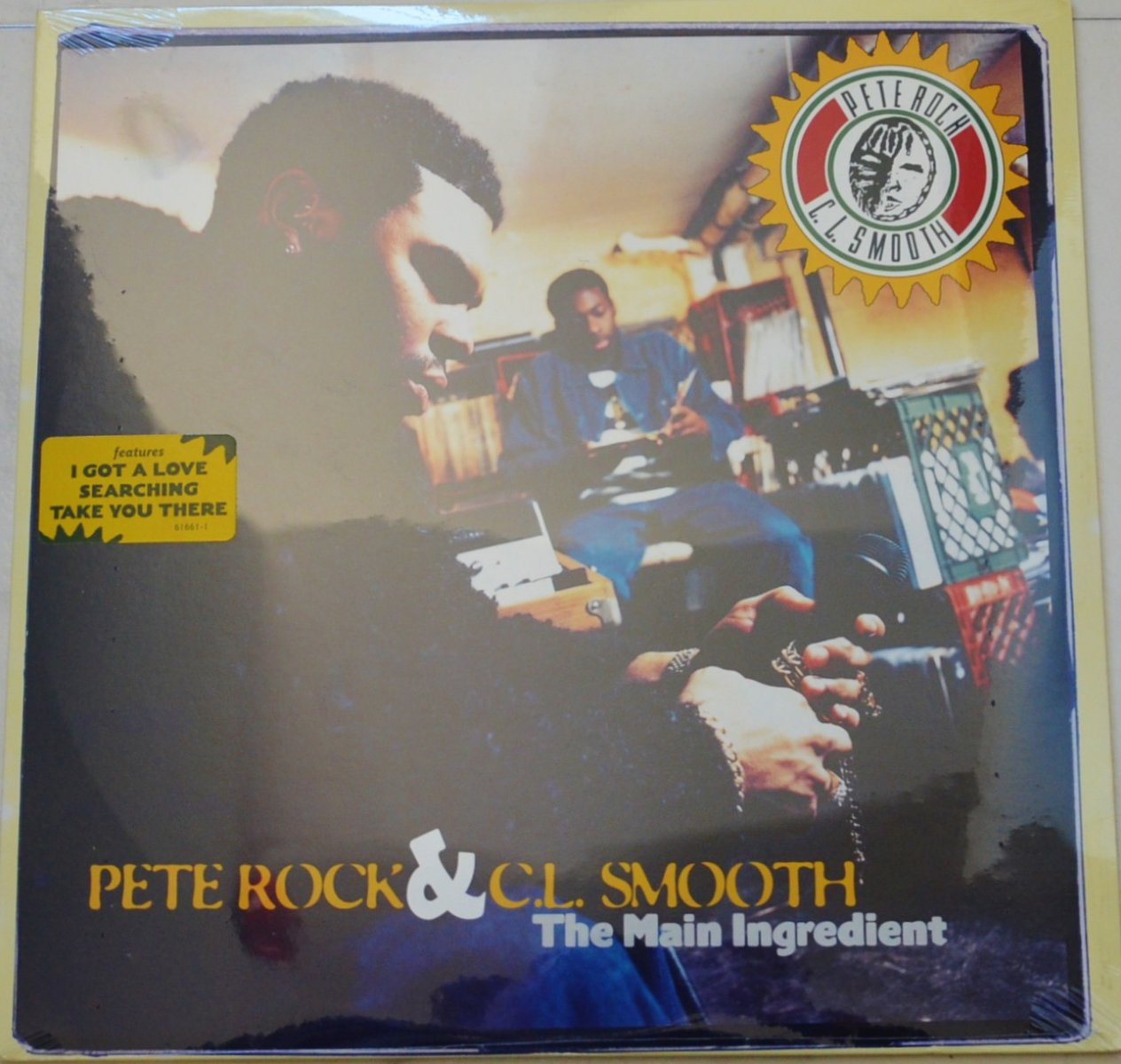 PETE ROCK & C.L.SMOOTH / THE MAIN INGREDIENT (LP)