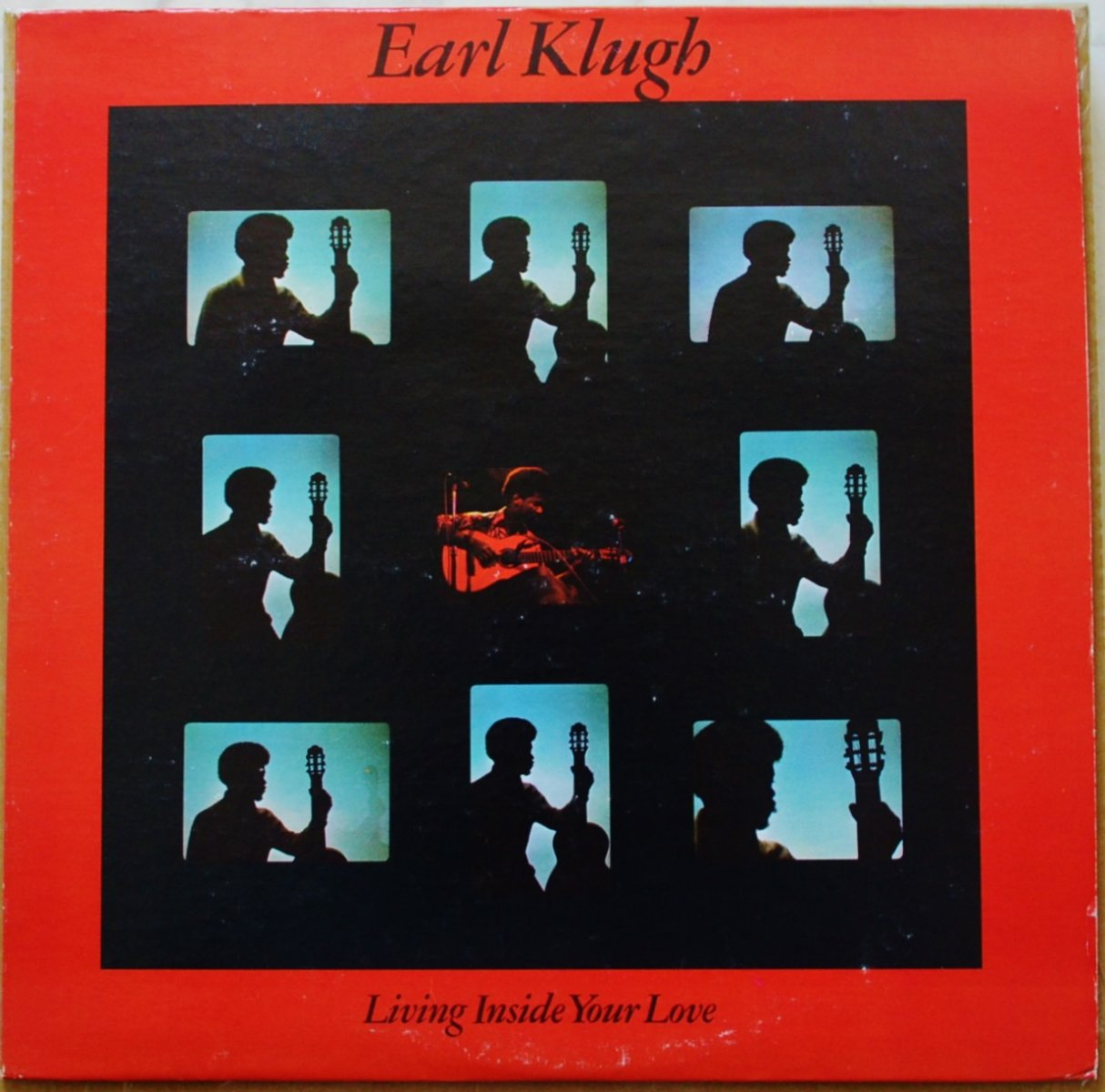 EARL KLUGH / LIVING INSIDE YOUR LOVE (LP)